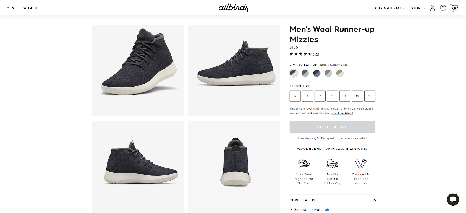 High resolution images from Allbirds